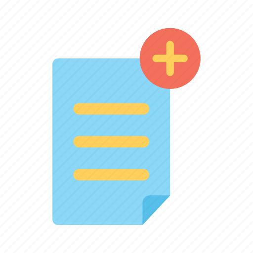 add document, design, element, graphic, new document, paper, tool icon