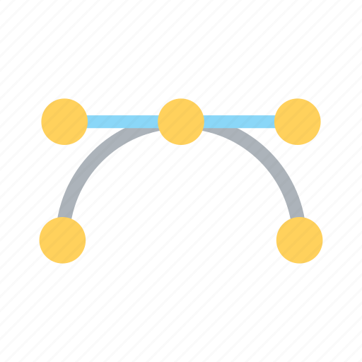 curve, design, element, graphic, pointer, shape, tool icon