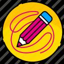 creative, design, graphic, illustration, pencil, tool, tools icon