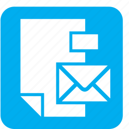 design, envelope, graphic, paper, papers, sheet, stationery icon