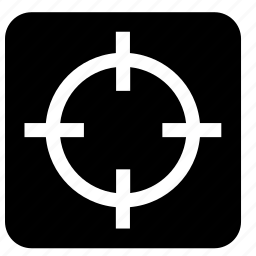 design, graphic, indicator, reticle, sniper, target, viewfinder icon