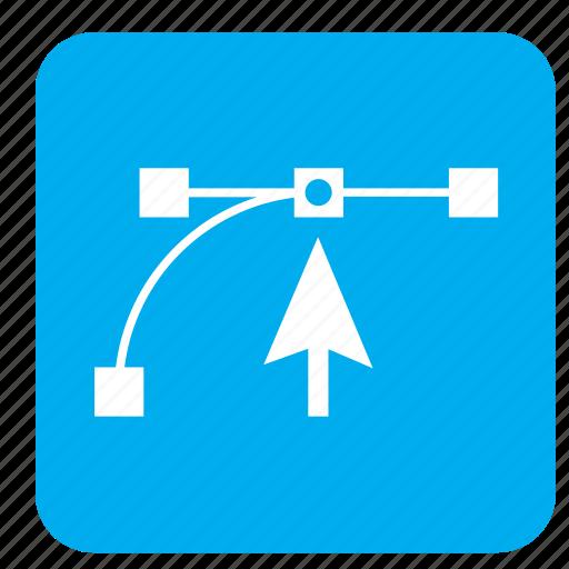 arrow, box, creative, design, format, grid icon