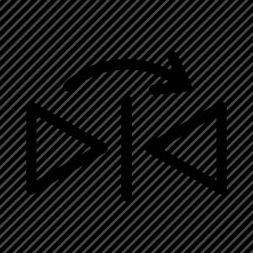 mirror sign, reflect, reflect design, reflect element, transform design icon