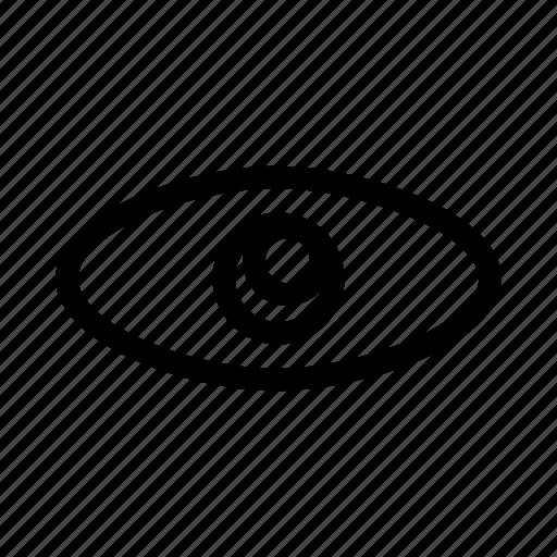 eye, eye icon, show, view, watch icon