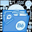 artwork, behance, cv, file, folder, image, portfolio