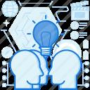 brainstorming, bulb, idea, innovation, lightbulb, people, thought