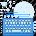 computer, hardware, keyboard, type, typing, writing