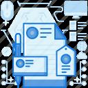branding, design, document, file, graphic, logo, paper icon