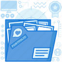 file, folder, graphic, image, portfolio, sorting, storage icon