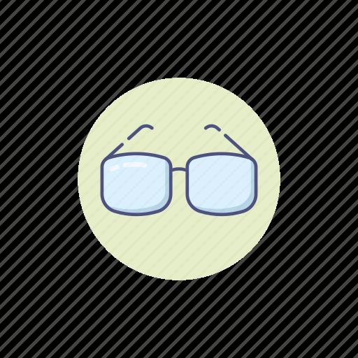 designer, glasses, graphic, nerd, spectacles icon