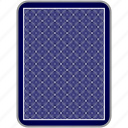 back, card, casino, playing, poker icon