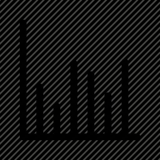 business, chart, data, graph, math, results, statistics icon