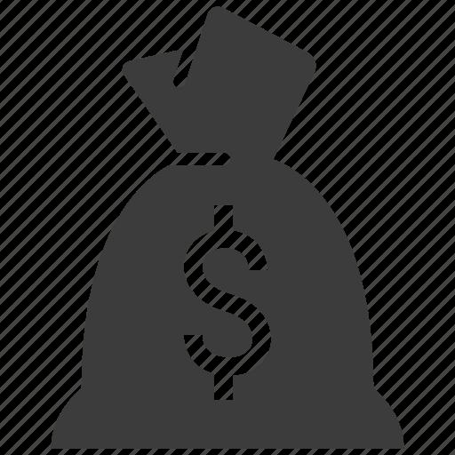 bag, banking, cash, money icon