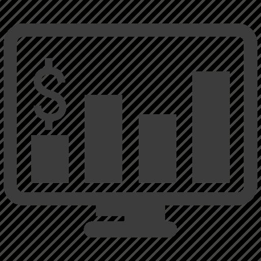 growth, profit, report, revenue, sales icon