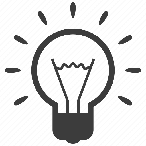 bulb, energy, idea, innovation, light icon