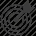 target, aim, bullseye, dartboard