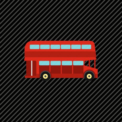 bus, decker, double, england, london, tourism, travel icon