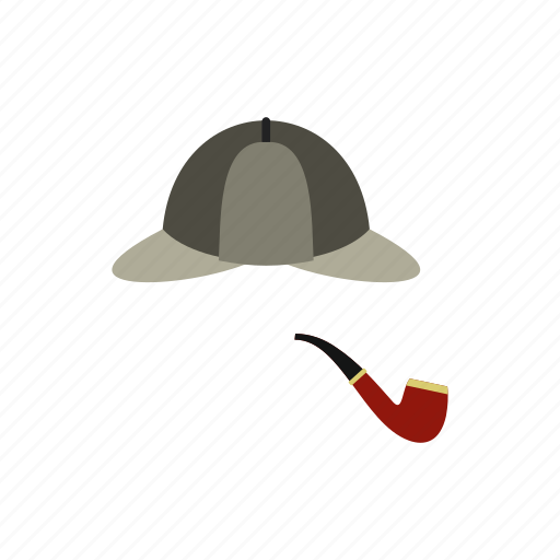 classic, clothes, fashion, gentleman, hat, headdress, pipe icon