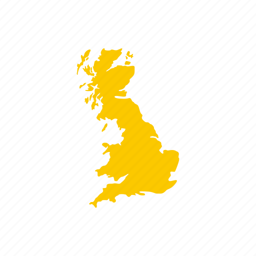 Britain England Map.Britain England Geography Great Map Uk United Icon