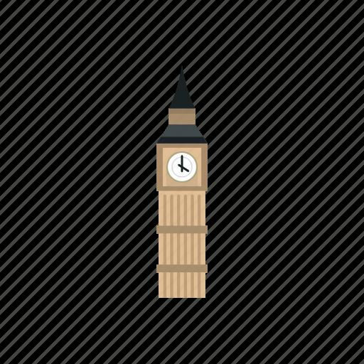 ben, big, building, clock, england, london, tower icon