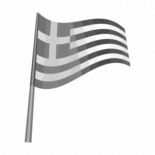 country, flag, greece, nation, national icon