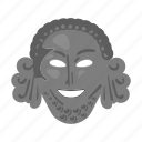 antiquity, face, mask, theater