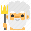 fantasy, god, greek, myth, mythology, poseidon, sea icon