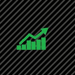 analysis, green icon