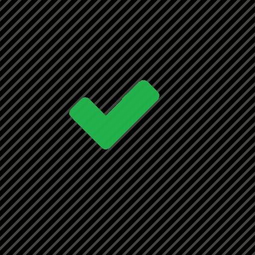 correct, green icon