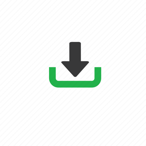 download, green icon