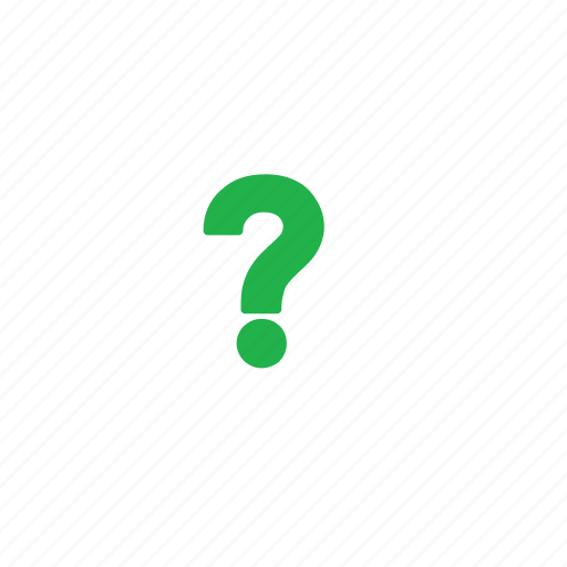 green, question icon