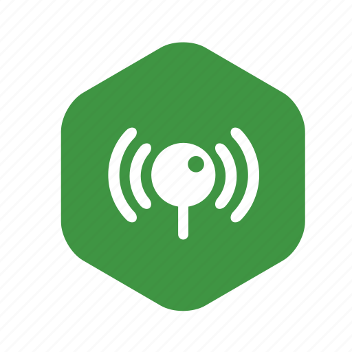 antenna, connection, gsm, radio, signal, waves, wi-fi icon