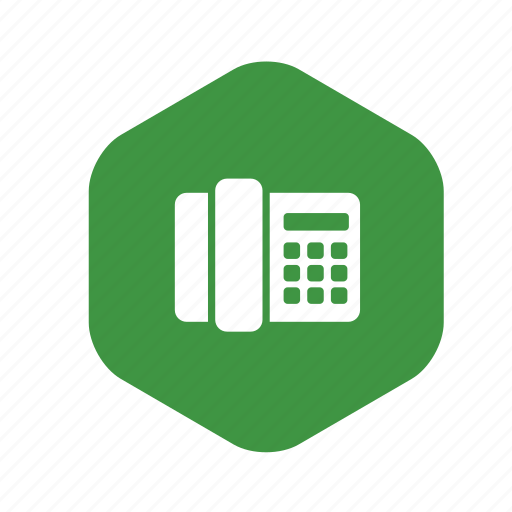 call, communication, fax, handset, phone, talk, telephone icon
