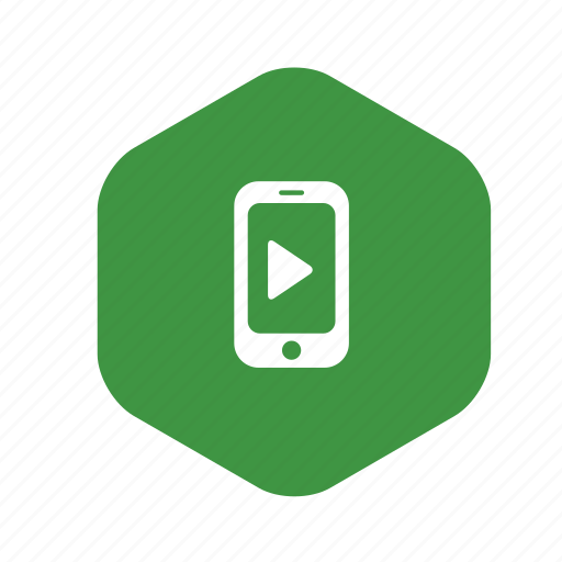 arrow, audio, call, media, mobile, music, phone, play, sound, telephone, touch icon