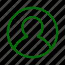 male, pesron, profile, user icon