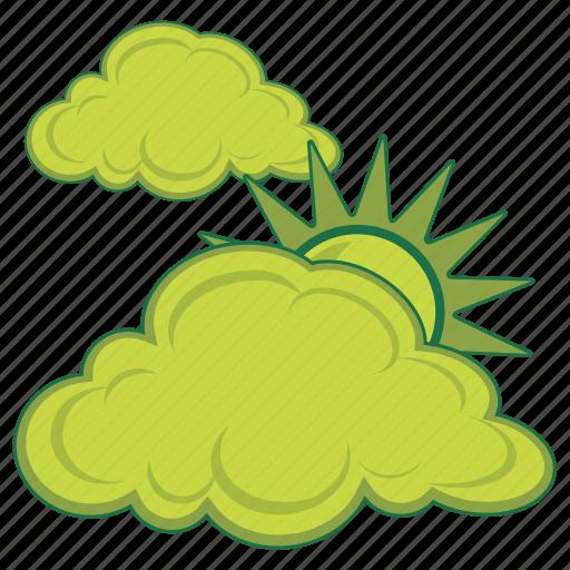 atmospheric, cloudy, radar, temperature, weather icon