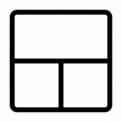 grid, grid layout, layout, line icon