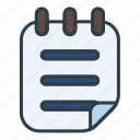 shopping, list, document, file, format
