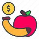 banana, and, fruit, food, cooking
