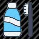 toothpaste, toothbrush, hygiene, washing, grooming