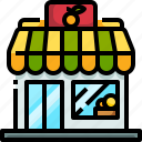 organic, fruit, market, shopping, shop icon