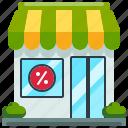 commerce, online, shop, store, supermarket