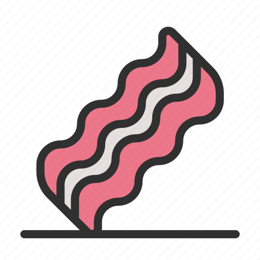 bacon, food, meat, pork icon