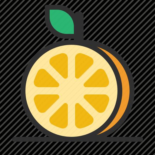 Fresh, fruit, orange, slice icon - Download on Iconfinder