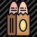 bread, bag, food, breads, shipping, restaurant, baking