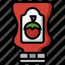 ketchup, item, tomato, sauce, bottle