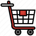 trolley, product, cart, shop, market, shopping