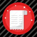 grocery receipt, list, checklist, items, menu, document