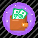 money, wallet, payment, dollars, finance, cash