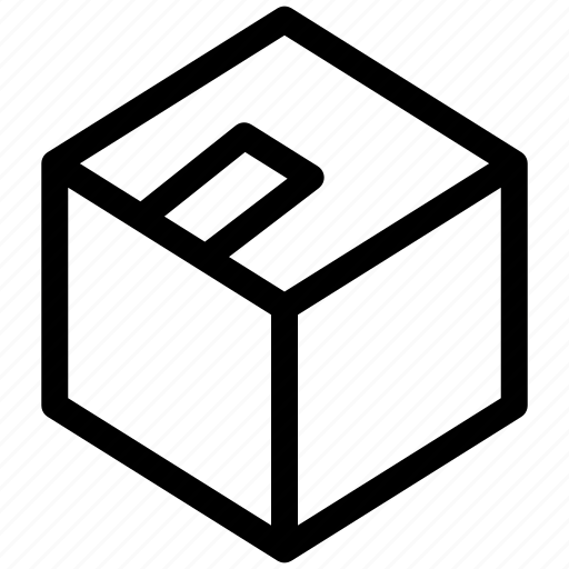 box, items, package, shipping icon